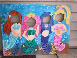 mermaid birthday party mermaid party mermaid birthday mermaid cutout mermaid photo