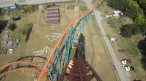 Six Flags Grand Prairie Titan Front Seat On Ride Hd Pov Six Flags Over Texas Youtube