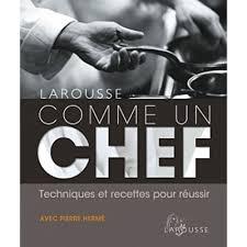 cuisiner comme un chef poitiers comme un chef livre cuisine salée cultura