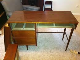 how to refinish a desk help refinishing mid century desk woodworking talk woodworkers forum
