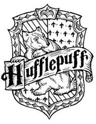 hogwarts house crests coloring pages coloring