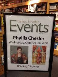 Barnes And Noble Columbia Phyllis Chesler