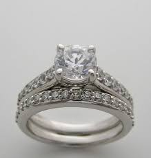 wedding ring settings accent bridal engagement ring setting and wedding ring set
