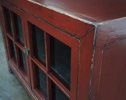 Red Corner Cabinet Small Buffet Cabinet With Glass Doors Best Home Furniture Decoration