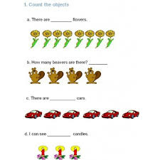 math counting worksheets grade k 1 counting order relate addition
