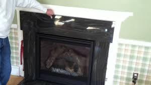 fireplace granite surround youtube