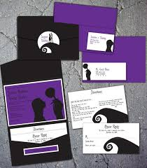 nightmare before christmas wedding invitations stirring nightmare before christmas wedding invitations