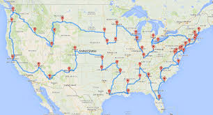 Dixie State University Map Computing The Optimal Road Trip Across The U S Dr Randal S Olson