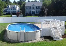 fence above ground pool fence intrigue above ground pool net