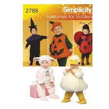 Toddler Lamb Halloween Costume Pattern Toddler Costumes Simplicity