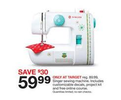 target black friday saler singer sewing machine deal at target black friday sale