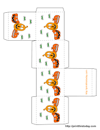 printable halloween decorations template