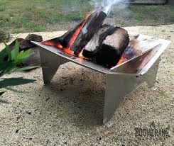 Personalized Fire Pit by Target Gas Fire Pit Portable Camping Firepit Boomerang