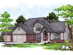 traditional two story house plans merville traditional home plan 051d 0388 house plans and more
