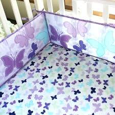 Lavender Butterfly Crib Bedding Butterfly Baby Bedding Lavender Butterfly Baby Crib Bedding Set