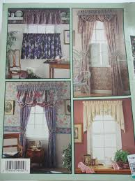 Pattern Drapes Curtains Window Treatments Simplicity Sewing Pattern Book Curtains Drapes