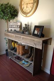 Modern Entryway Table Table Fascinating Modern Entry Table Reclaimed Barn Wood Rustic