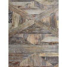 Rustic Lodge Rugs Horace Rustic Lodge Reclaimed Elm Parquet Coffee Table Kathy Kuo