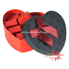 chocolate heart box chocolate heart box we deliver gifts lebanon