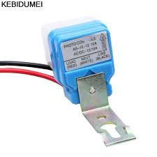 photocell sensor automatic light control switch 1pc switch automatic auto on off photocell street light switch dc ac