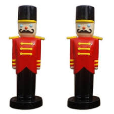 Large Nutcracker Christmas Decorations by Fiberglass Nutcracker Soldier For Christmas Decorations Buy