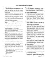 doc 575709 sample maintenance contract u2013 maintenance contract