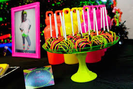 neon birthday decorations image inspiration of cake and birthday