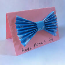 diy paper bow tie father u0027s day card construction paper scissors