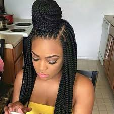 show pix of braid box braids hairstyles hairstyles with box braids