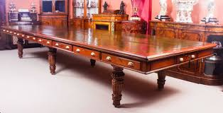 Antique Boardroom Table Antique Boardroom Table With 16 Chairs Circa 1850 At
