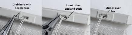 Venetian Blind Repair Shop Graber Crystal Pleat Cord Lock Wear Bar