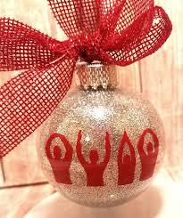 ohio state ribbon ohio state buckeyes o h i o christmas ornament ohio state ohio
