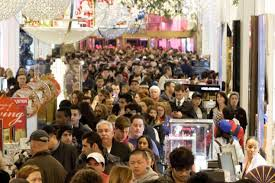 black friday store sales drop as americans opt for ny