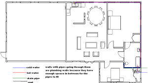 sample house floor plans sample house plumbing plans house and home design