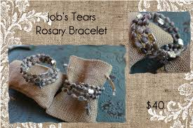 s tears rosary tears rosary bracelet non sterling silver