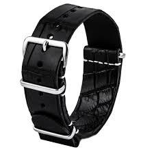 omega bracelet images Omega speedmaster leather nato strap black special tanning jpg