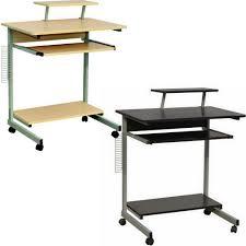 Compact Computer Desk Computer Desk Wheels Ebay