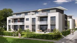 Mehrfamilienhaus Modelldigital 3d Architektur Visualisierung Wohnungsbau 3d