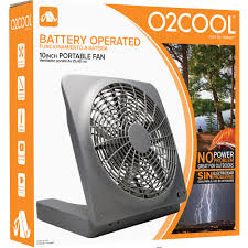 battery powered extractor fan o2cool 10 inch battery or electric portable fan walmart com