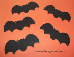 bats die cut black bat diecut 1 5