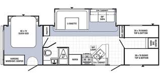 Puma Travel Trailers Floor Plans 2015 Palomino Puma Series M 30fbss Specs And Standard Equipment