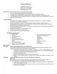 Resume Sample Objectives For Nurses by Nursing Resumes Objectives Splixioo