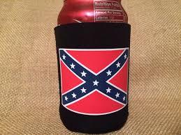 Confederate Flag Sheets Confederate Flag Can Koozie U2013 Rebel Nation