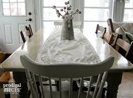 Distressed Dining Room Tables by Dining Tables White Wash Dining Table Diy Distressed Farm Table