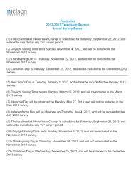 thanksgiving day dates media info slc 2012 2013 nielsen sweeps dates