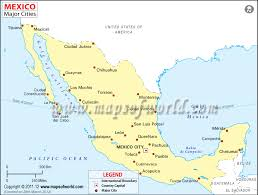 world map of capital cities mexico city in world map major tourist attractions maps