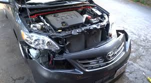 how to remove the front bumper on the 2009 2013 toyota corolla