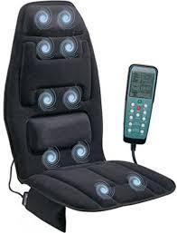 heated massage chair heat cushion body massager back pad vibrating