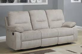 Beige Reclining Sofa Homelegance Marianna Reclining Sofa With Center Drop