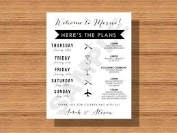 destination wedding itinerary template the 25 best wedding weekend itinerary ideas on